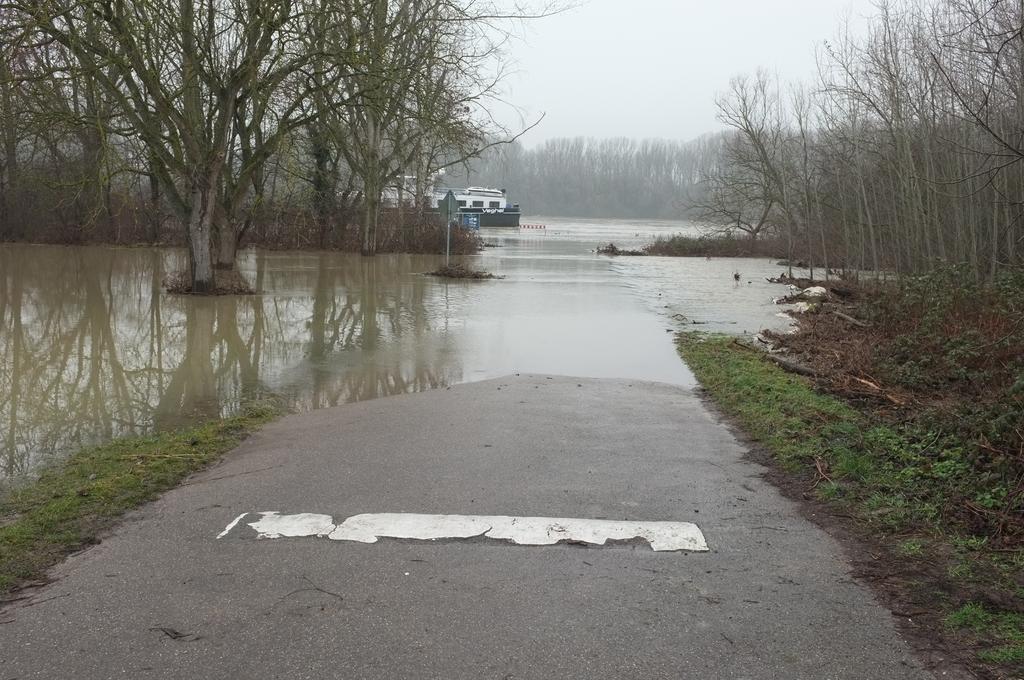 Hochwasser Februar 2021
