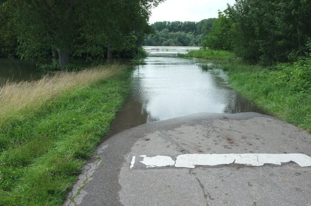 Rheinwasserstand